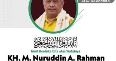 Innalillahi Wakil Rais PWNU Jatim KH. Nuruddin A Rahman, SH Meninggal Dunia