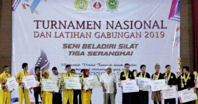 Tiga Serangkai Gelar Turnamen Nasional, Andalkan Jurus Seni Tunggal